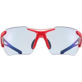 UVEX Sportstyle 803 Race VM Lunettes de sport, black/red/blue